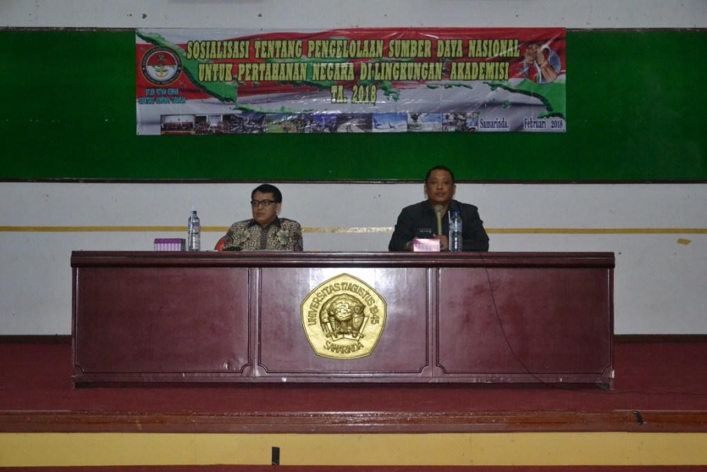 Kuliah Umum pertahanan Nasional