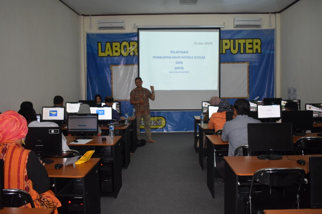 Pelatihan Pembuatan Akun GS dan SINTA