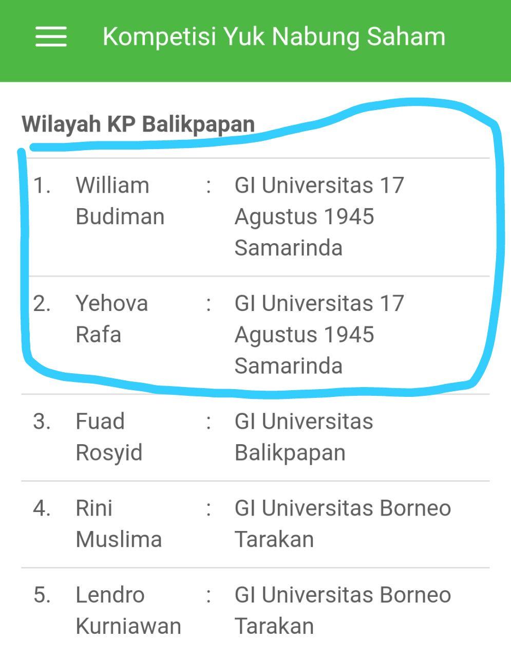 Yuk Nabung Saham 2018